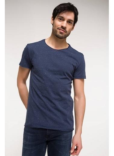 DeFacto Nopeli Basic T-shirt Mavi
